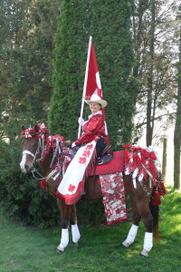 kay & horse