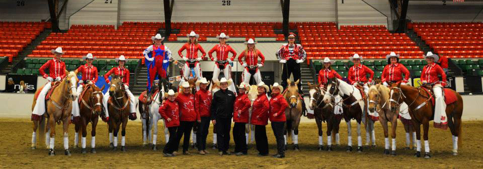 Canadian Cowgirls at Equine Affaire-MA-02